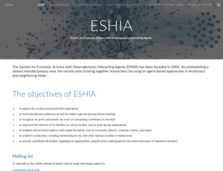 es-hia.org screenshot