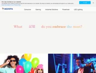 es.adata.com screenshot