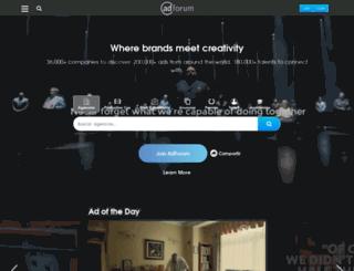 es.adforum.com screenshot