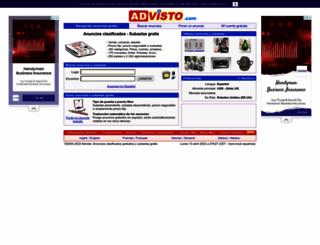 es.advisto.com screenshot