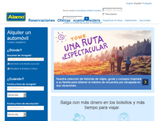 es.alamo.com screenshot