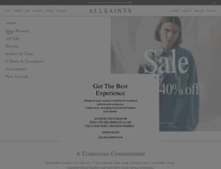 es.allsaints.com screenshot