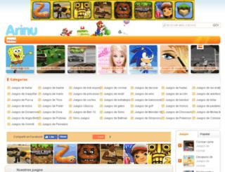es.arinu.com screenshot