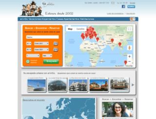 es.arivigo.com screenshot