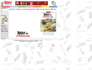 es.asterix.com screenshot