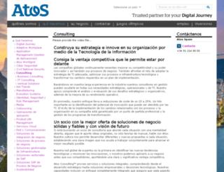 es.atosconsulting.com screenshot