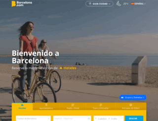 es.barcelona.com screenshot