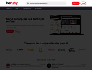es.beruby.com screenshot