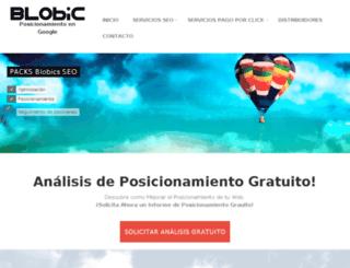 es.blobic.com screenshot