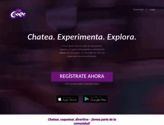es.clubcooee.com screenshot
