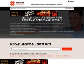 es.dll-files.com screenshot