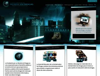 es.drugfreeworld.org screenshot