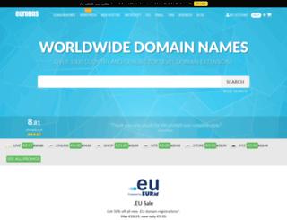 es.eurodns.com screenshot