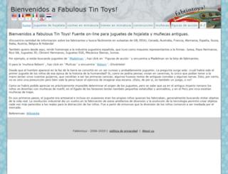 es.fabtintoys.com screenshot