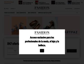 es.fashionjobs.com screenshot