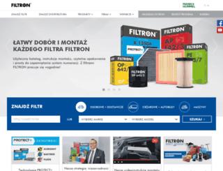 es.filtron.eu screenshot