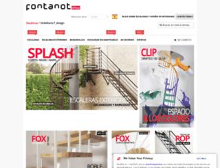es.fontanotshop.com screenshot
