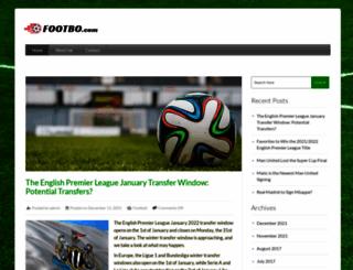 es.footbo.com screenshot