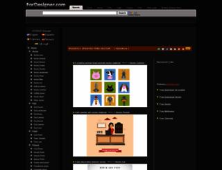 es.fordesigner.com screenshot