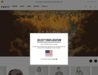 es.foxhead.com screenshot