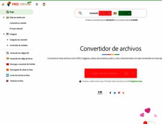 es.free-converter.com screenshot