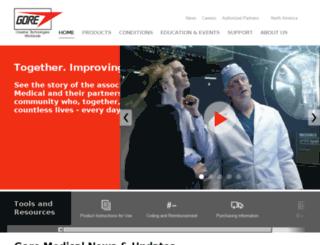 es.goremedical.com screenshot