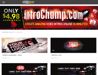 es.introchamp.com screenshot