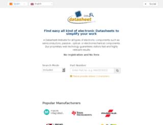 es.link2datasheet.com screenshot
