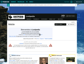 es.lostpedia.wikia.com screenshot
