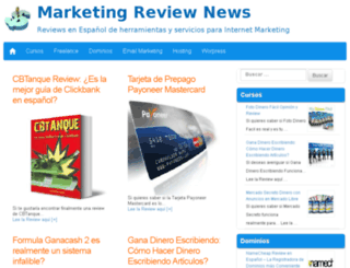 es.marketingreviewnews.com screenshot