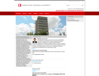 es.metu.edu.tr screenshot
