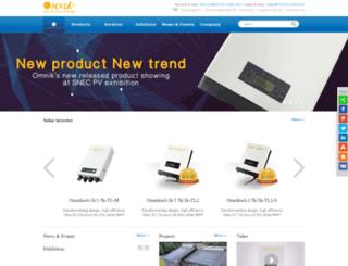 es.omnik-solar.com screenshot