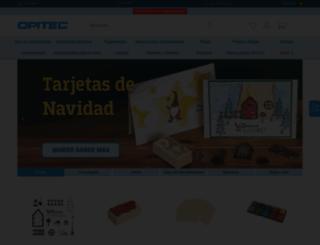 es.opitec.com screenshot