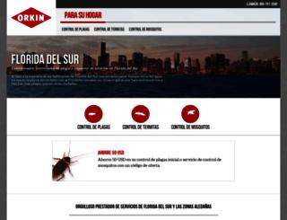 es.orkin.com screenshot