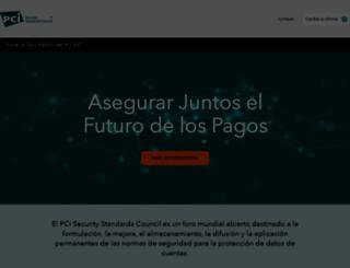 es.pcisecuritystandards.org screenshot