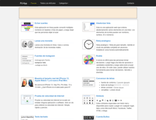 es.piliapp.com screenshot