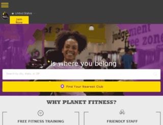 es.planetfitness.com screenshot