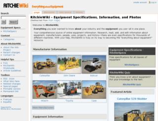 es.ritchiewiki.com screenshot
