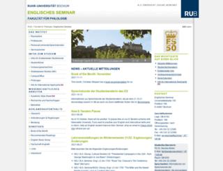es.rub.de screenshot