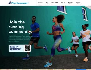es.runkeeper.com screenshot
