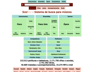 es.scorser.com screenshot