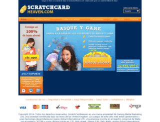 es.scratchcardheaven.com screenshot