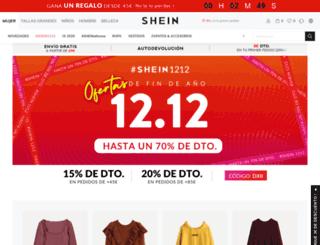es.sheinside.com screenshot