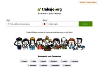 es.trabajo.org screenshot