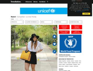 es.trendtation.com screenshot