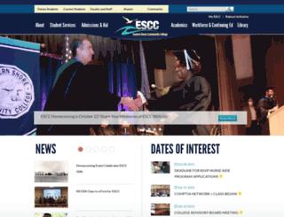 es.vccs.edu screenshot