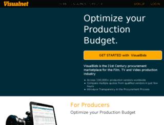 es.visualnet.com screenshot