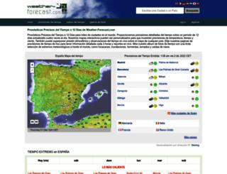 es.weather-forecast.com screenshot