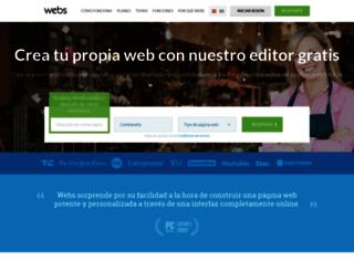 es.webs.com screenshot