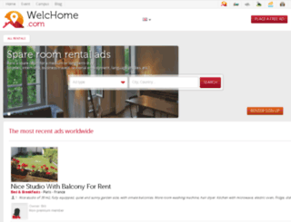 es.welchome.com screenshot
